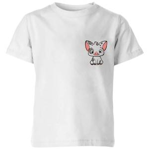 Moana Pua The Pig Kids' T-Shirt - White