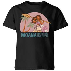 Moana Read The Sea Kids' T-Shirt - Black