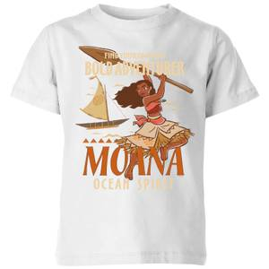 T-Shirt Moana Find Your Own Way - Bianco - Bambini