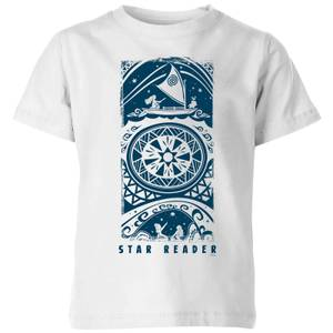 Moana Star Reader Kids' T-Shirt - White