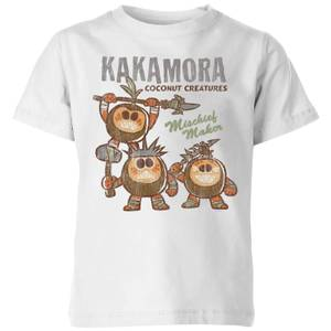 Moana Kakamora Mischief Maker Kids' T-Shirt - White