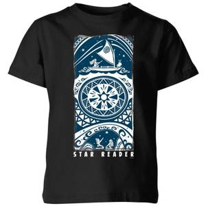 Moana Star Reader Kids' T-Shirt - Black