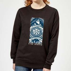 Moana Star Reader Women's Sweatshirt - Black