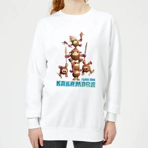 Moana Fear The Kakamora Women's Sweatshirt - White