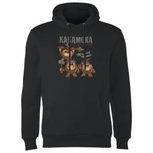 Sweat à Capuche Homme Kakamora Vaiana, la Légende du bout du monde Disney - Noir