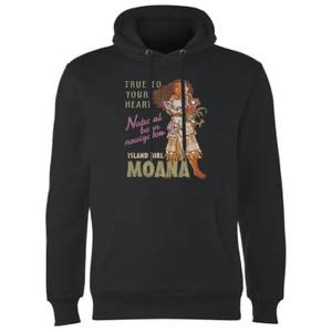 Moana Natural Born Navigator Hoodie - Black