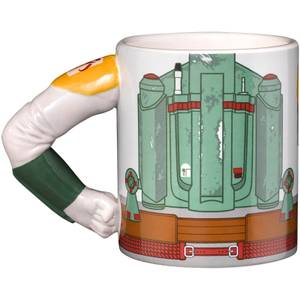 Meta Merch Star Wars Boba Fett-mok met arm