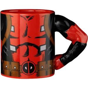 Meta Merch Marvel Deadpool Arm Mug