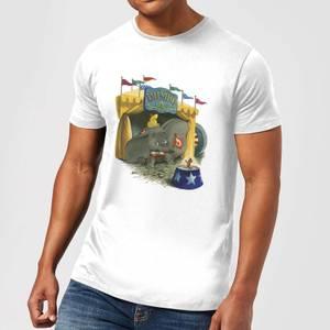 T-Shirt Homme Cirque Dumbo Disney - Blanc