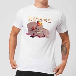 T-Shirt Homme Trombone Dumbo Disney - Blanc
