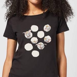 Dumbo Peekaboo Women's T-Shirt - Black