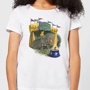 Dumbo Circus Women's T-Shirt - White