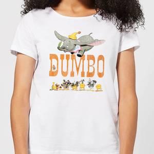 T-Shirt Femme Le Seul et l'Unique Dumbo Disney - Blanc