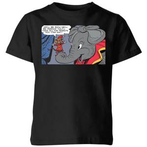 Dumbo Rich and Famous Kids' T-Shirt - Black