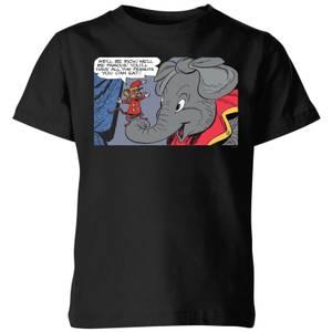 T-Shirt Enfant Rich And Famous Dumbo Disney - Noir