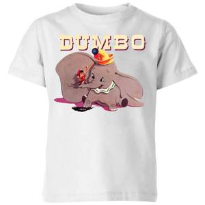 Dumbo Timothy's Trombone Kids' T-Shirt - White