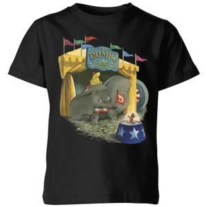 T-Shirt Enfant Cirque Dumbo Disney - Noir