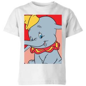 Dumbo Portrait Kids' T-Shirt - White