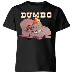 Dumbo Timothy's Trombone Kids' T-Shirt - Black