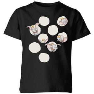 T-Shirt Enfant Cache Cache Dumbo Disney - Noir