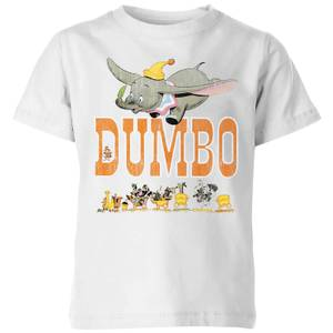 Dumbo The One The Only Kids' T-Shirt - White
