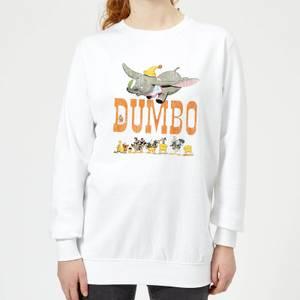 Sweat Femme Le Seul et l'Unique Dumbo Disney - Blanc