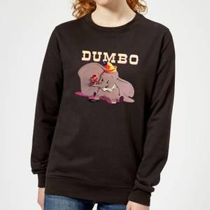 Dumbo Timothy's Trombone Women's Sweatshirt - Black