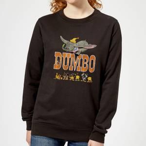 Sweat Femme Le Seul et l'Unique Dumbo Disney - Noir
