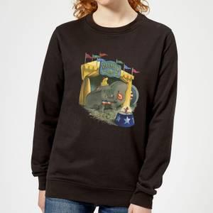 Dumbo Circus Women's Sweatshirt - Black