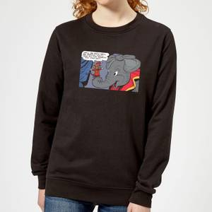 Dumbo Rich and Famous Women's Sweatshirt - Black