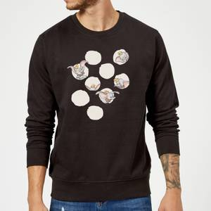 Sweat Homme Cache Cache Dumbo Disney - Noir
