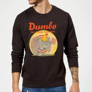 Sweat Homme Flin Eléphant Vintage Dumbo Disney - Noir