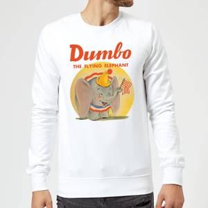 Sweat Homme Flin Eléphant Vintage Dumbo Disney - Blanc
