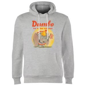 Dumbo Flying Elephant Hoodie - Grau