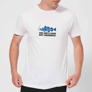Plain Lazy for Cod's Sake Men's T-Shirt - White