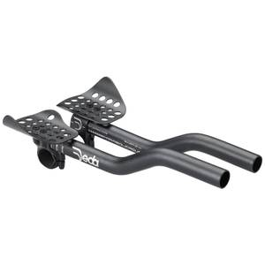 Deda Parabolica Due Clip-On Bars - Black - 31.7mm