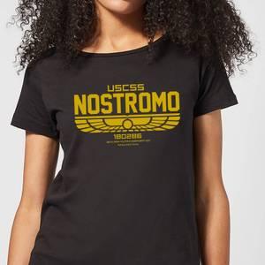 Alien USCSS Nostromo Women's T-Shirt - Black