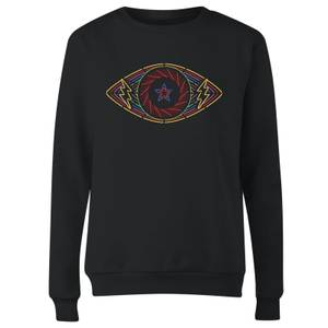 Celebrity Big Brother Eye Women's Sweatshirt - Black