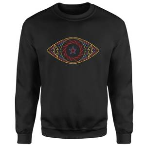 Celebrity Big Brother Eye Sweatshirt - Black
