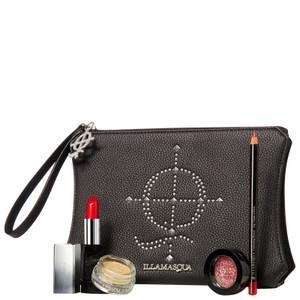 Illamasqua Limited Edition Rock & Rouge Kit (Worth $119.00)