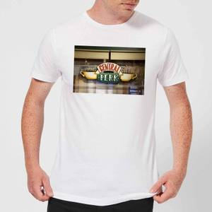 T-Shirt Homme Signe Central Perk - Friends - Blanc