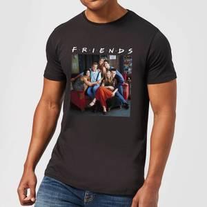 Friends Classic Character Herren T-Shirt - Schwarz