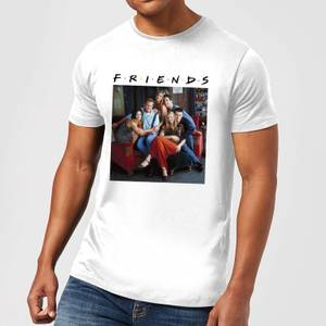 Friends Classic Character Men's T-Shirt - White