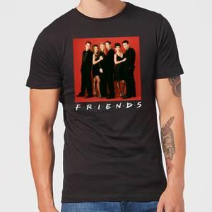 Friends Character Pose Men's T-Shirt - Black