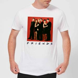 Friends Character Pose Herren T-Shirt - Weiß