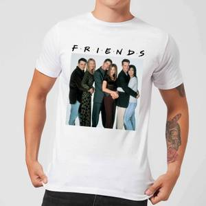T-Shirt Homme Le Groupe - Friends - Blanc
