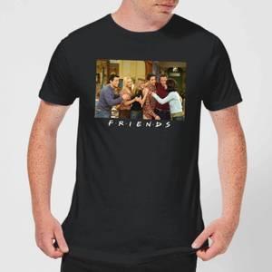 Friends Cast Shot Men's T-Shirt - Black