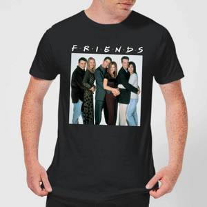 Friends Group Shot Herren T-Shirt - Schwarz