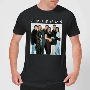 Friends Group Shot Men's T-Shirt - Black
