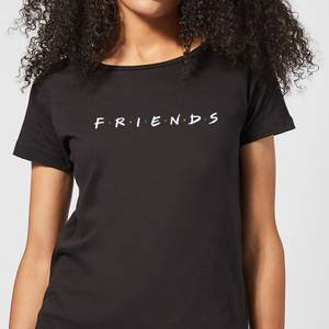 Friends Logo Women's T-Shirt - Black